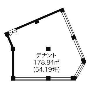 則武1 ノリタケ第1ビル 平面図