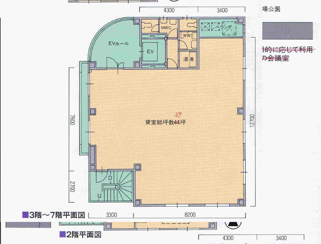 栄3 瑞穂ビル 平面図