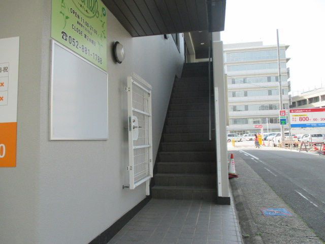 三本松町 AMBER HOUSE JINGU エントランス