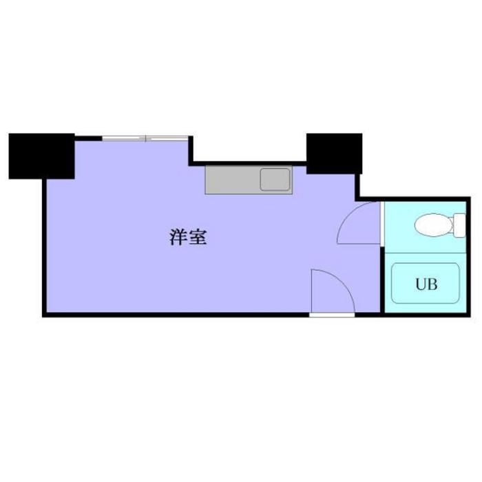 栄1 ライオンズ名古屋 平面図