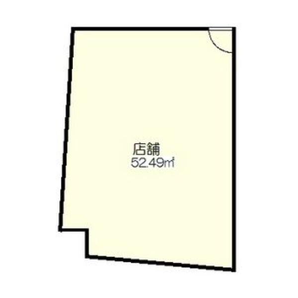 一社1 寿山ビル 平面図
