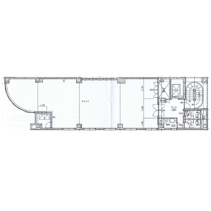 錦3 エフジー久屋ビル 平面図