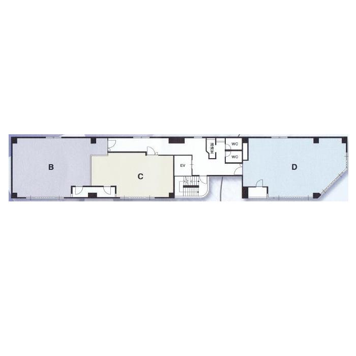 丸の内3 ISH丸の内ビル 平面図