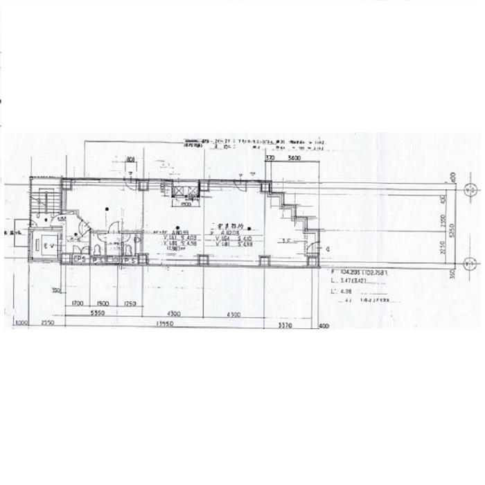 錦3 GI368ビル 平面図