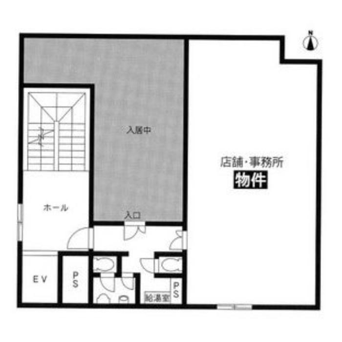 名駅4 名駅エフワンビル 平面図