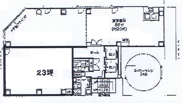 丸の内3 三晃丸の内ビル 平面図