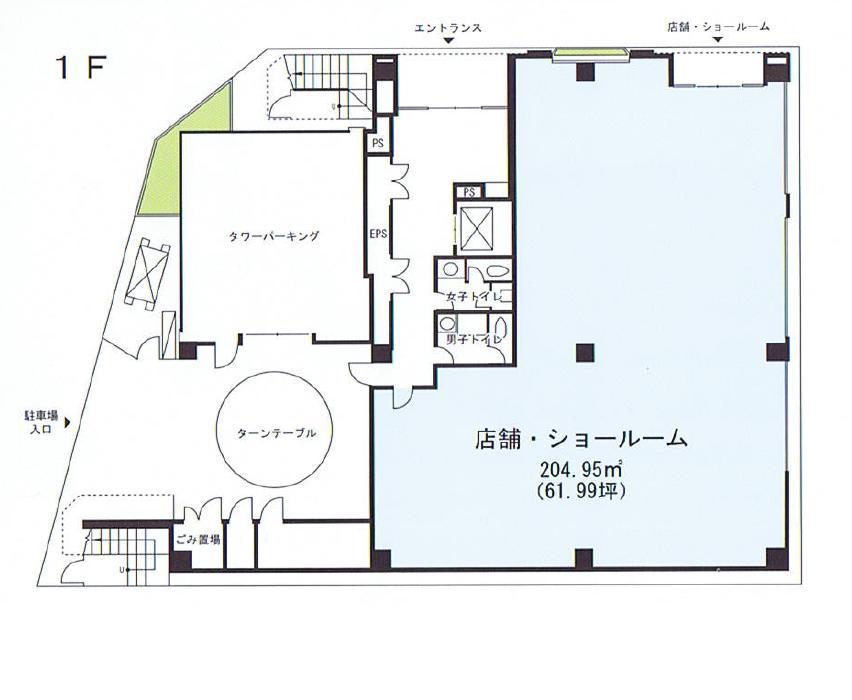名駅3 サンシャイン名駅ビ 平面図ル