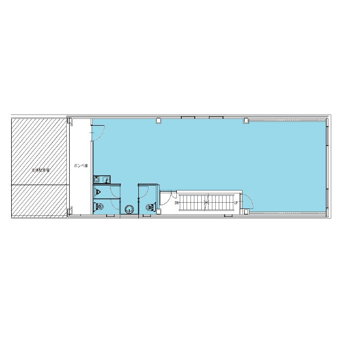 葵1 セントラル名古屋葵第2ビル 平面図
