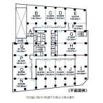 代官町 第一富士ビル 平面図