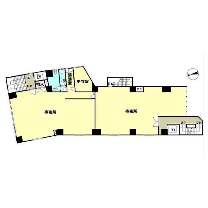 芳野1 セーエービル 平面図