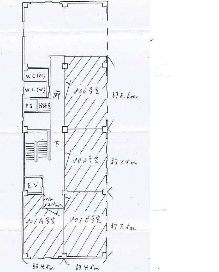 丸の内1 吉村ビル 平面図