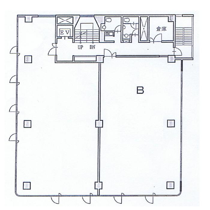 松原2 桐美ビル 平面図