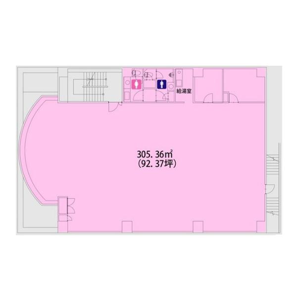 桜本町 サクラ印刷 平面図