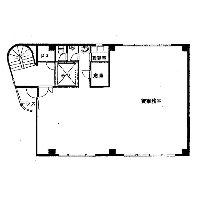 大須2 アスター開発ビル 平面図