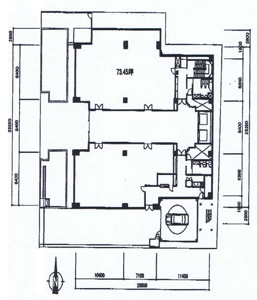 丸の内1 白川第八中駒ビル 平面図