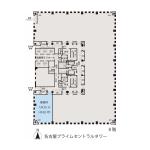 名駅2 名古屋プライムセントラルタワー 平面図