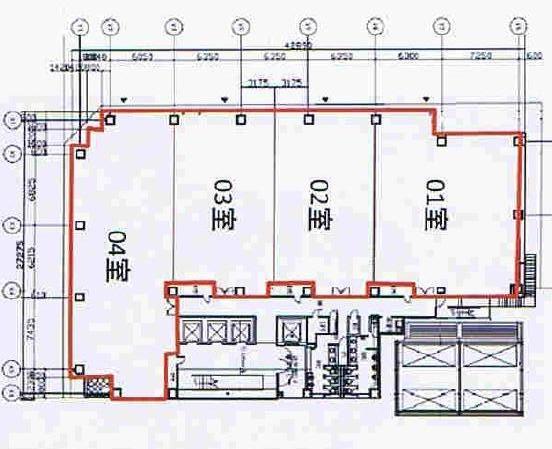 丸の内3 名古屋桜通ビル 平面図