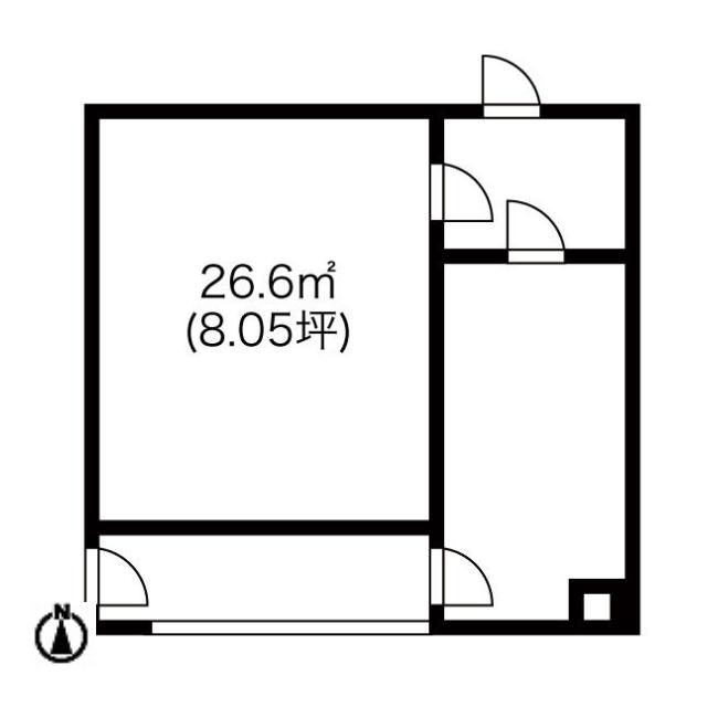 豊国通3 柾木ビル 平面図