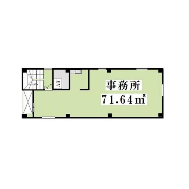栄1 栄一丁目・事務所ビル 平面図