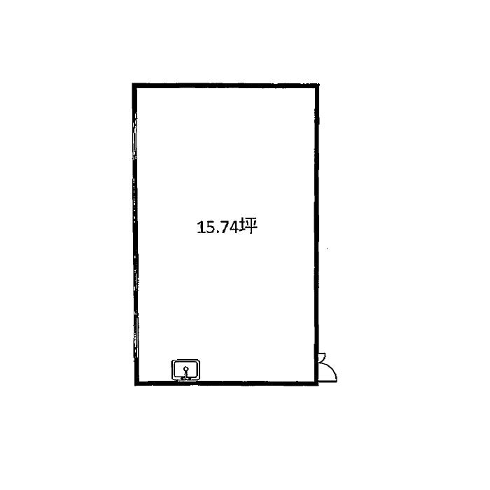 内山3 若山ビル 平面図