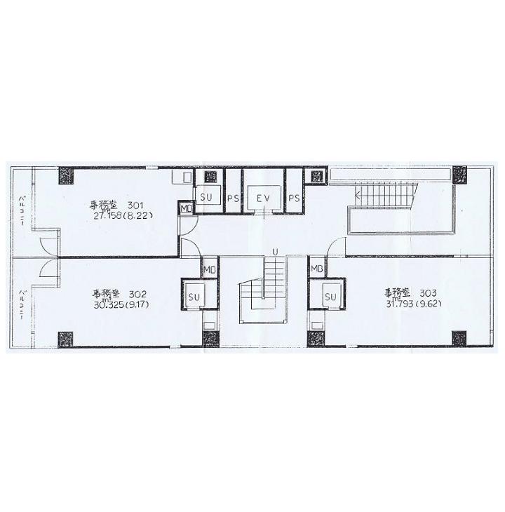 丸の内1 ミワ第一ビル 平面図