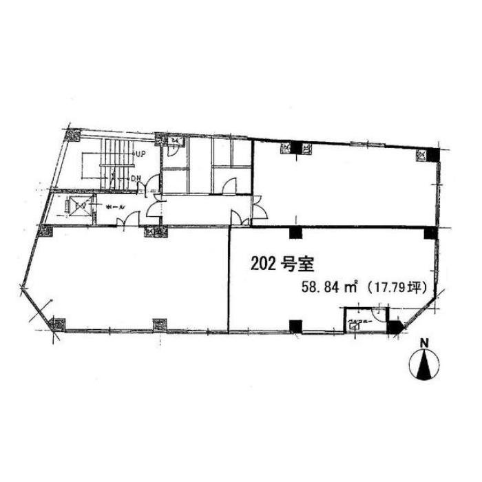 東桜2 ナゴヤビル 平面図
