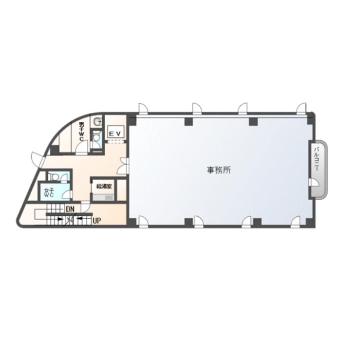 徳川1 徳川ビル 平面図
