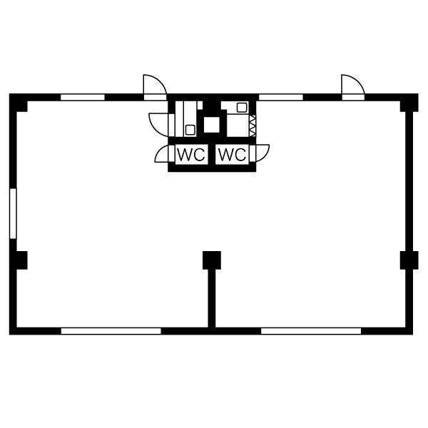 丸の内2 丸の内服部ビル 平面図