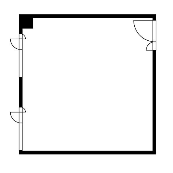 栄4 栄メンバーズオフィス 平面図
