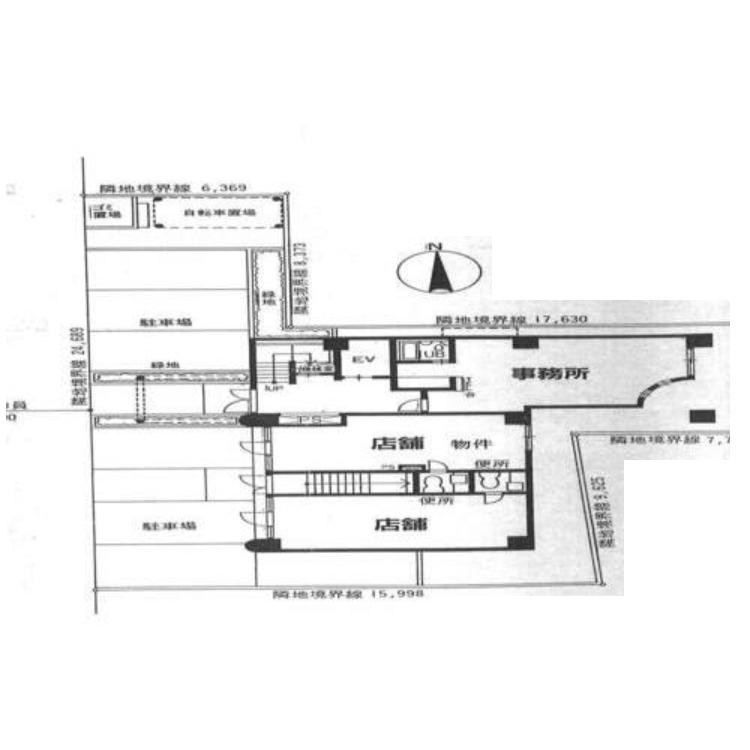丸の内1 ナビシティ丸の内 平面図