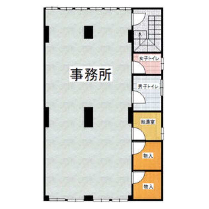 松原1 戸田ビル 平面図