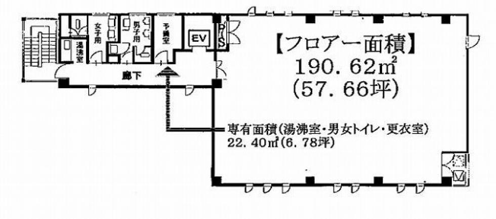 泉1 大日ビル 平面図