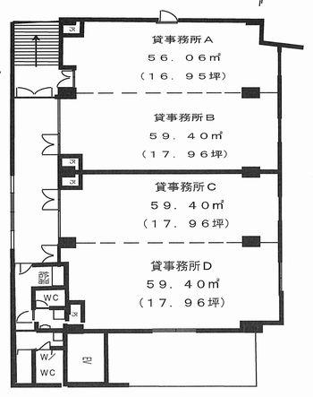 三本松町 エステイタスAS-17 平面図