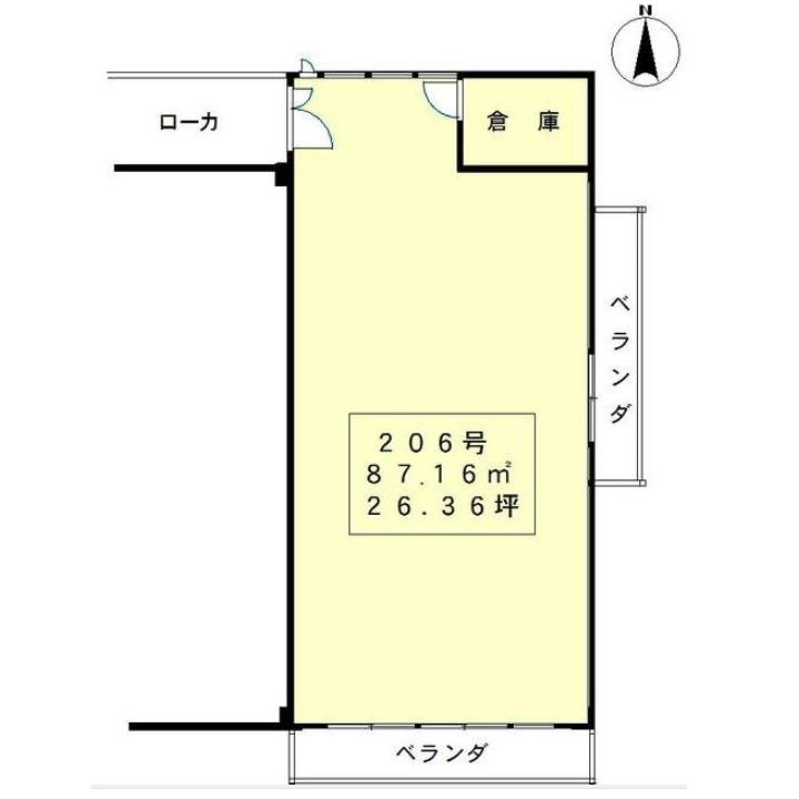 千代田1 ブラウンハウス 平面図