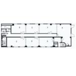 今池南 川島第一ビル 平面図