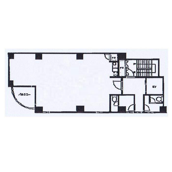 千代田5 きんそうビル 平面図