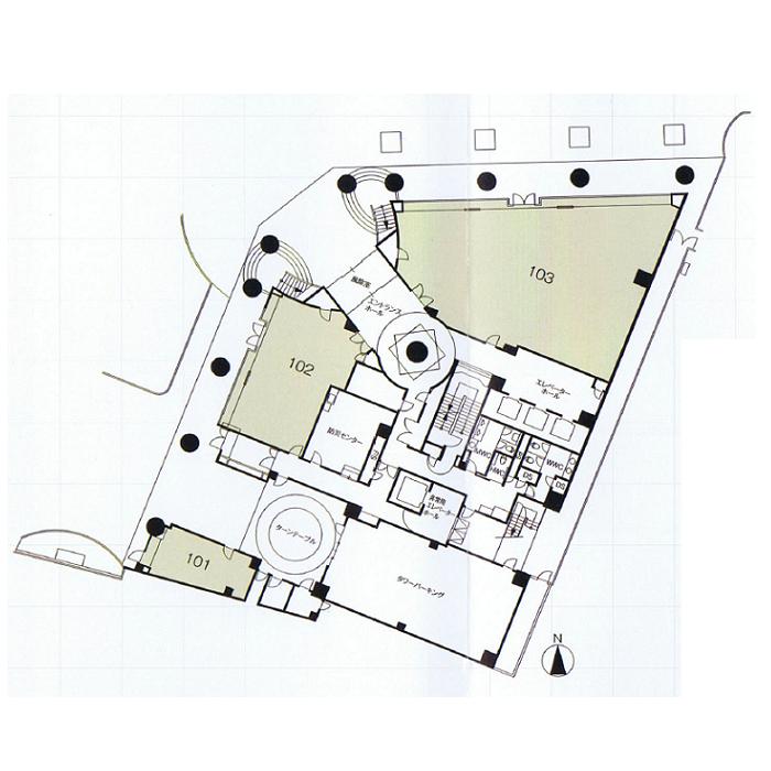 東桜2 高岳パークビル 平面図