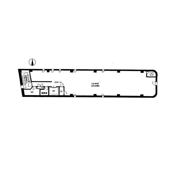栄3 LOCO栄 平面図