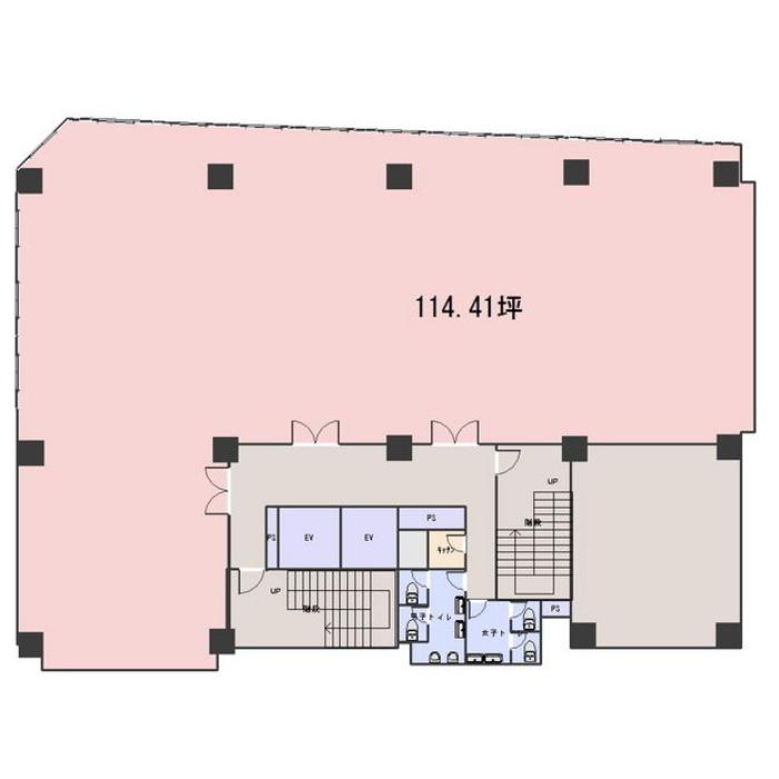 大須4 Z´sビル 平面図