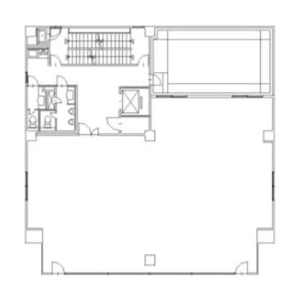 代官町 鹿島貿易ビル 平面図