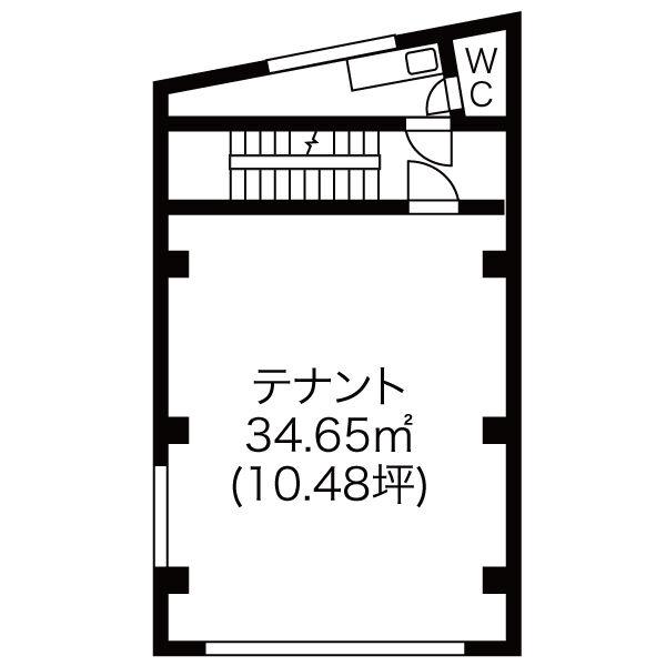 東桜1 小川ビル 平面図