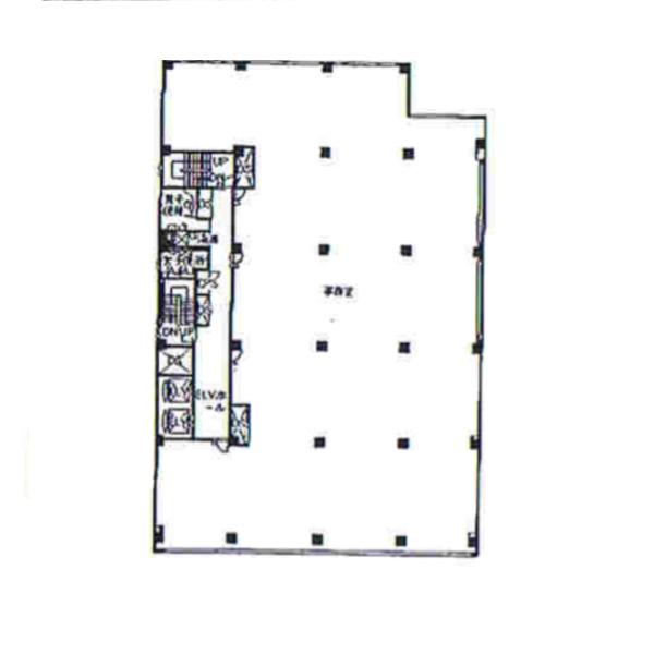 栄2 セントラルビル 平面図