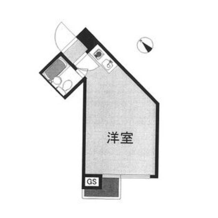 名駅3 名駅セブンスタービル 平面図