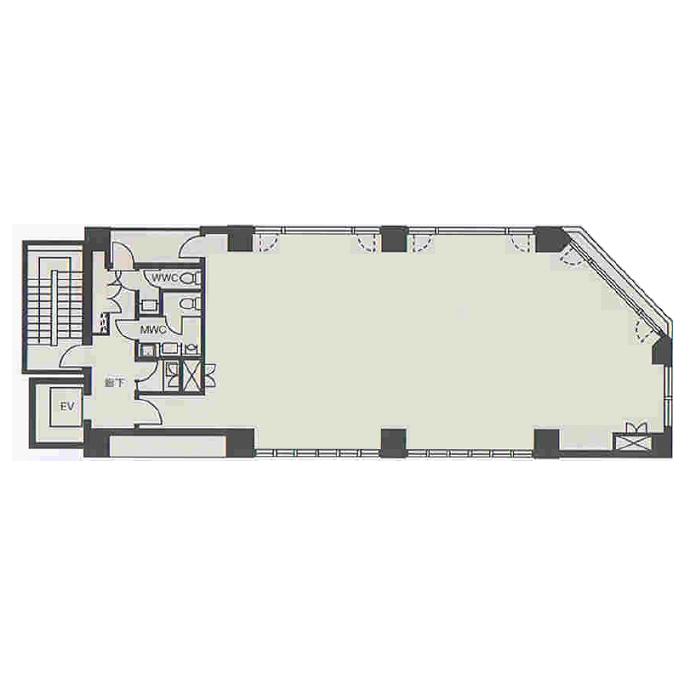 栄2 山本屋本店栄ビル 平面図