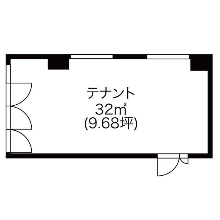 栄1 伏見ポイントビル 平面図