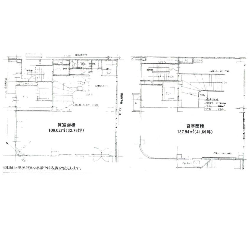 錦2 TH錦ビル 平面図