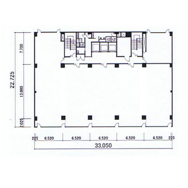 名駅4 EME名古屋ビル 平面図