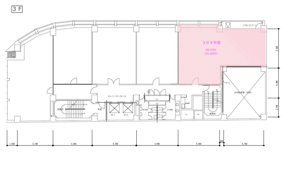 錦3 WAKITA名古屋ビル 平面図