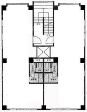 今池1 サンパワービル 平面図