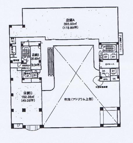 新栄町2 スカイオアシス栄 平面図